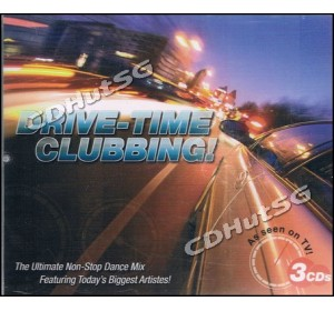 DRIVE-TIME CLUBBING! 3CD Non-Stop DJ Mix