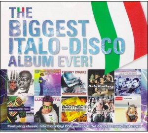 Biggest ITALO-DISCO Album Ever! 3CD Ft. Gigi D'Agostino, Eiffel 65, Lilu, Italo Brothers, Luca Zeta.