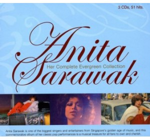 Anita Sarawak : HER COMPLETE EVERGREEN COLLECTION 3CD