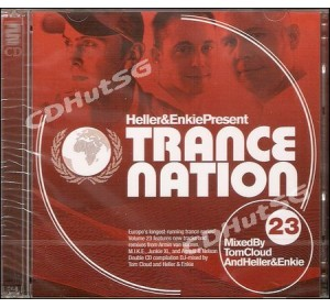 Heller & Enkie / Tom Cloud : TRANCE NATION 23 DJ Mixed 2CD