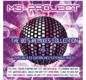 MS Project : 80s REMIXES COLLECTION Vol.1 2CD Edition