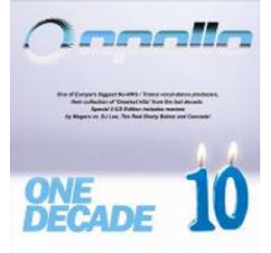 Apollo : ONE DECADE 10 - Greatest Hits Trance Special 2CD Edition