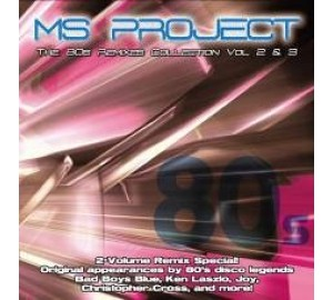 MS Project : 80s REMIXES COLLECTION Vol.2 & 3 (2CD Set)