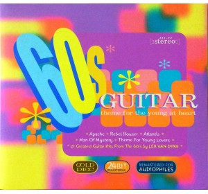 Lex Vandyke : 60s GUITAR Theme For The Young Heart Audiophile 24bit Premium Record