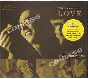 Tim Tamashiro : LOVE 24bit Remastered Audiophile CD