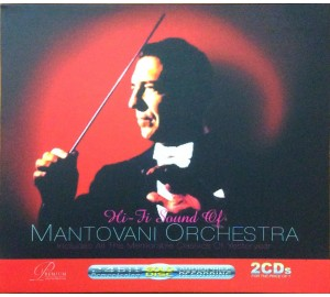 Hi-Fi Sound of Mantovani Orchestra 24bit Remastering Audiophile Recording 2CD