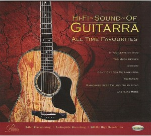 Hi-Fi Sound Of GUITARRA : All Time Favourites Audiophile CD