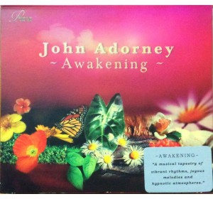 John Adorney : AWAKENING Audiophile Recording CD
