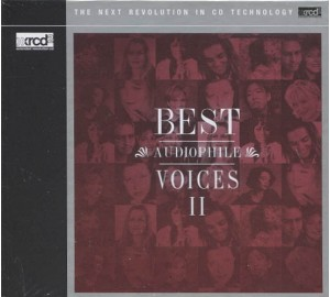 BEST AUDIOPHILE VOICES II - Vol.2 XRCD
