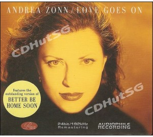 Andrea Zonn : LOVE GOES ON Audiophile CD 24Bit 192Khz