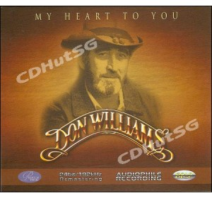 Don Williams : MY HEART TO YOU Audiophile 24bit 192Khz CD