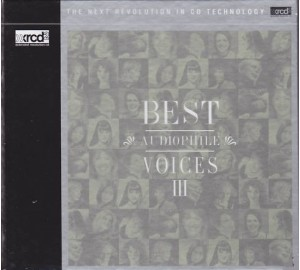 BEST AUDIOPHILE VOICES III - Vol.3 XRCD