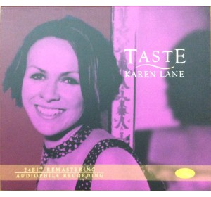 Karen Lane : TASTE 24bit Remastering Audiophile Recording CD