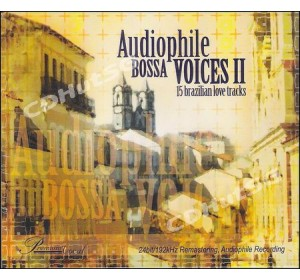 Audiophile Bossa Voices II : 15 Brazilian Love Tracks CD 24bit / 192 Khz Remastering