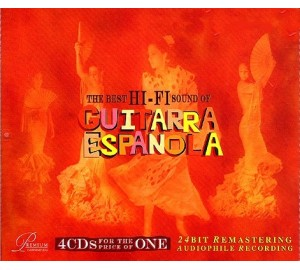 Best Of Hi-Fi Sound Of GUITARRA ESPANOLA 4CD 24Bit Remastering Audiophile Recording