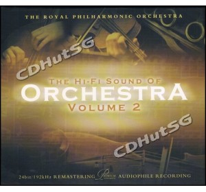 Hi-Fi Sound Of Orchestra Vol.2 : THE ROYAL PHILHARMONIC ORCHESTRA Audiophile CD 24bit 96kHz