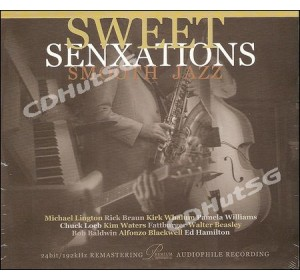 SWEET SENXATIONS SMOOTH JAZZ : Audiophile CD 24bit 96kHz