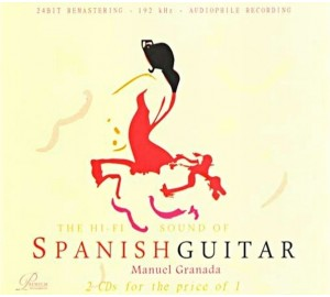 Hi-Fi Sound Of SPANISH GUITAR Ft Manuel Granada Audiophile 2CD