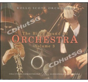 Hi-Fi Sound Of Orchestra Vol.3 : ROLLO SCOTT ORCHESTRA Audiophile CD 24bit 96kHz