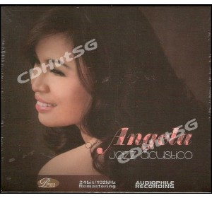 Angela : JAZZ ACUSTICO CD Album 24Bit Audiophile Recording