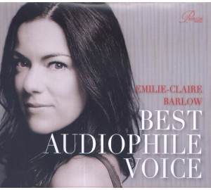 Emilie-Claire Barlow : BEST AUDIOPHILE VOICE CD