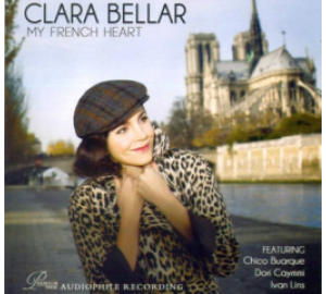 Clara Bellar : MY FRENCH HEART Audiophile Recording CD