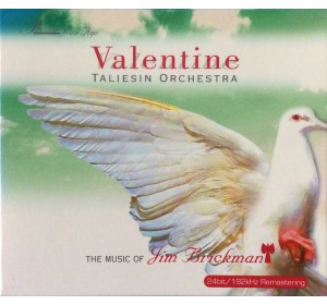 Taliesin Orchestra : VALENTINE - Music Of Jim Brickman 24bit 192kHz Remastering CD