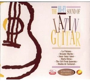 Hi-Fi Sound Of LATIN GUITAR I Ft Lex Vandyke Audiophile CD