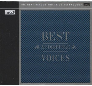 BEST AUDIOPHILE VOICES I - Vol.1 XRCD